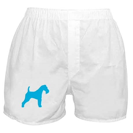 Blue Wire Fox Terrier Boxer Shorts