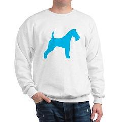 Blue Wire Fox Terrier Sweatshirt