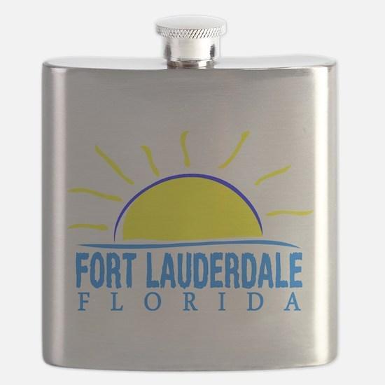Summer fort lauderdale- florida Flask