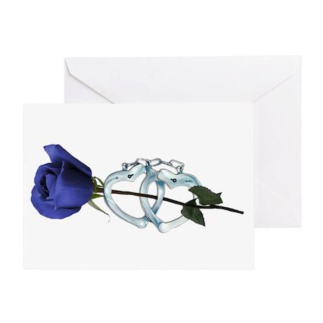 Rose/Cuffs Greeting Card