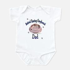 Retired Racers Dad Bowl Infant Bodysuit