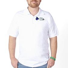 Rose/Cuffs T-Shirt