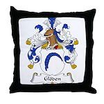 Gloden Family Crest Throw Pillow