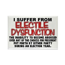 Electile Dysfunction Rectangle Magnet