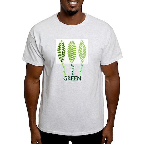 Think Love Live Green Light T-Shirt