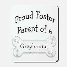 Greyhound Foster Parent Mousepad