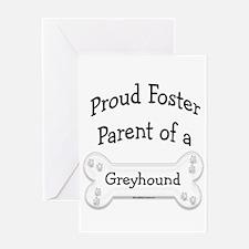 Greyhound Foster Parent Greeting Card