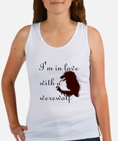I'm in love with a werewolf Women's Tank Top
