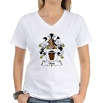 Glatz Family Crest Women's V-Neck T-Shirt