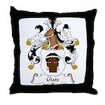 Glatz Family Crest Throw Pillow