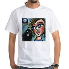 Singing Schipperke w Singer Shirt
