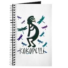 Kokopelli with Dragonflies Journal