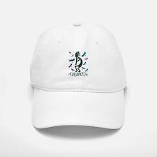 Kokopelli with Dragonflies Baseball Baseball Cap