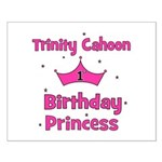 Custom - First Birthday - Tri Small Poster