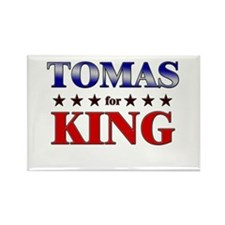 TOMAS for king Rectangle Magnet