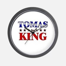 TOMAS for king Wall Clock