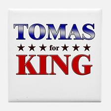 TOMAS for king Tile Coaster