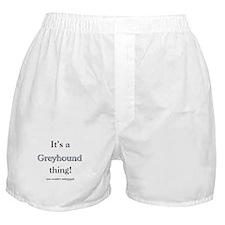 Greyhound Thing Boxer Shorts