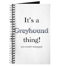 Greyhound Thing Journal