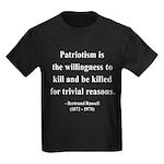 Bertrand Russell 9 Kids Dark T-Shirt