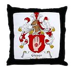 Gieser Family Crest Throw Pillow