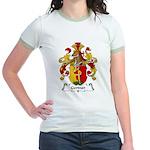Gertner Family Crest Jr. Ringer T-Shirt