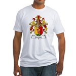 Gertner Family Crest Fitted T-Shirt