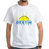 Fort walton beach Mens White T-shirts