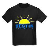 Florida coast Kids T-shirts (Dark)