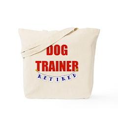 Retired Dog Trainer Tote Bag