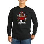 Gersdorf Family Crest Long Sleeve Dark T-Shirt