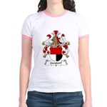 Gersdorf Family Crest Jr. Ringer T-Shirt