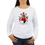 Gersdorf Family Crest Women's Long Sleeve T-Shirt