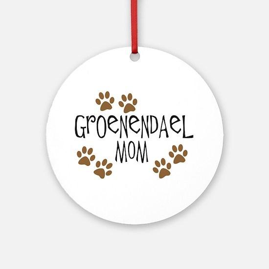Groenendael Mom Ornament (Round)