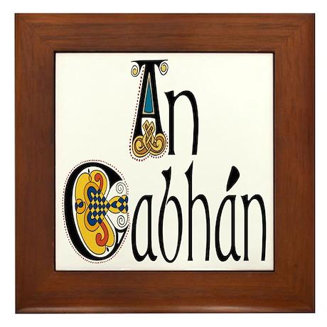 Cavan (Kells) Framed Tile