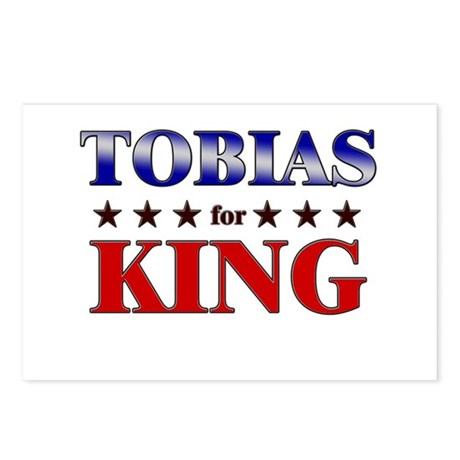 TOBIAS for king Postcards (Package of 8)
