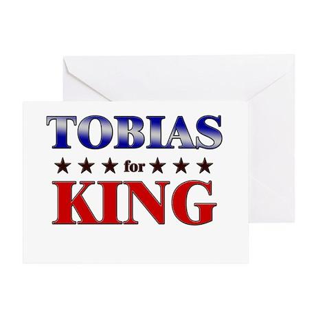TOBIAS for king Greeting Card
