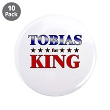 """TOBIAS for king 3.5"""" Button (10 pack)"""