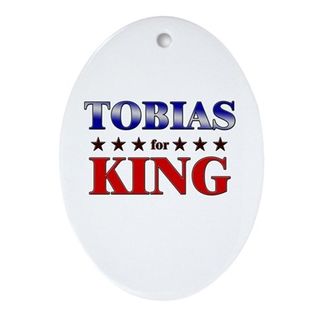 TOBIAS for king Oval Ornament