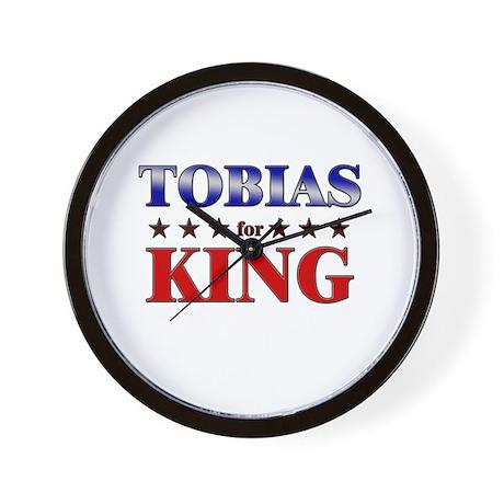 TOBIAS for king Wall Clock