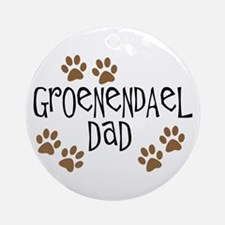 Groenendael Dad Ornament (Round)