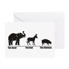 The Good The Bad Greeting Card