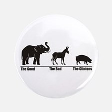 "The Good The Bad 3.5"" Button"