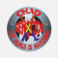 CHAD: STOP GENOCIDE NOW Ornament (Round)