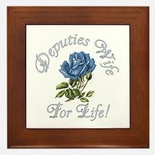 Deputies Wife For Life Framed Tile