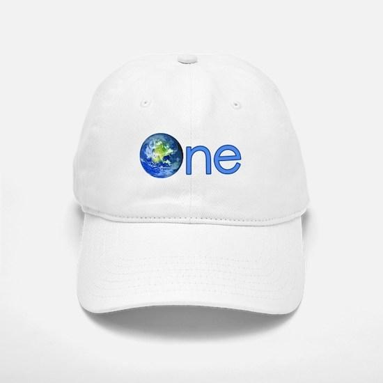 One Earth Baseball Baseball Cap
