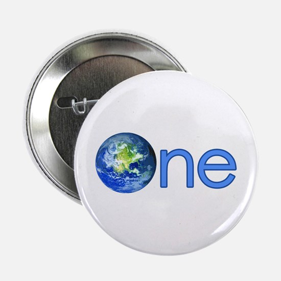 """One Earth 2.25"""" Button"""
