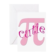 Cutie Pi Greeting Card
