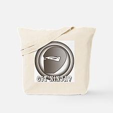Retro Ninja Tote Bag
