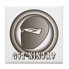 Retro Ninja Tile Coaster
